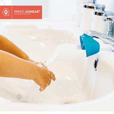 【美國 PRINCE LIONHEART】幼兒專用水龍頭延伸輔助器 (7折)