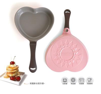 【韓國NEOFLAM Aeni】陶瓷不沾愛心煎蛋鍋(17cm) (5.1折)