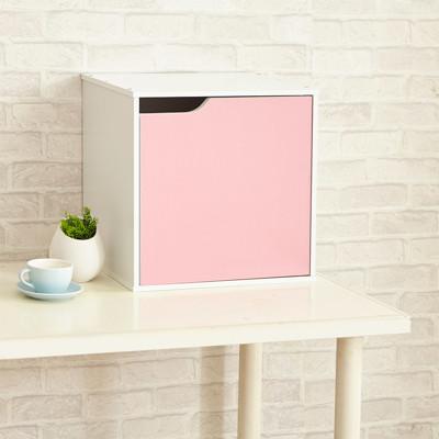 【ikloo】現代風單門收納櫃/置物櫃(單個) (2.4折)