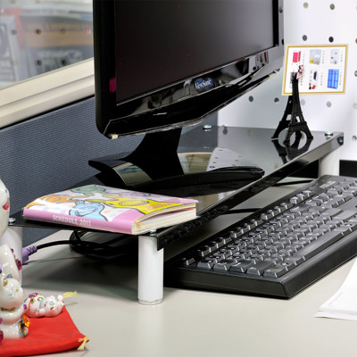 【ikloo】省空間桌上螢幕架/鍵盤架 (2.9折)