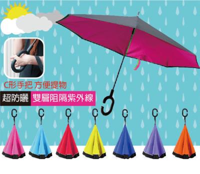 免手持創新上收式反向傘 (2折)
