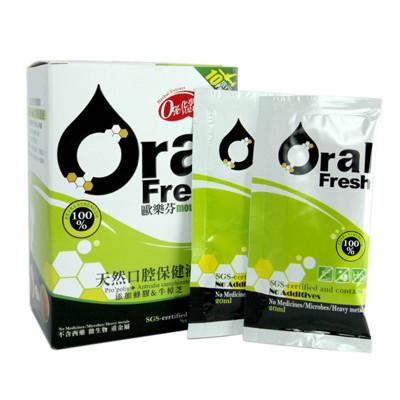 Oral Fresh歐樂芬天然口腔保健液旅行組-20cc/包*10 (8.7折)