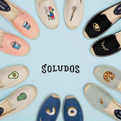 【SOLUDOS】美國紐約懶人鞋草編鞋 (5.3折)