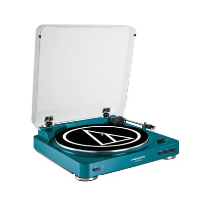 鐵三角 AT-LP60 BL 藍色 限量版全自動黑膠唱盤【買就送朱俐靜黑膠唱片】 (8.3折)