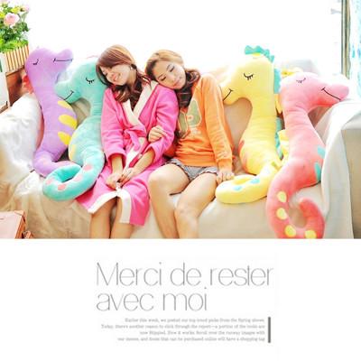 超萌海馬抱枕 (3.3折)