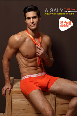 AiSALY超薄透氣平口男內褲U型囊袋設計七件組 (3.1折)