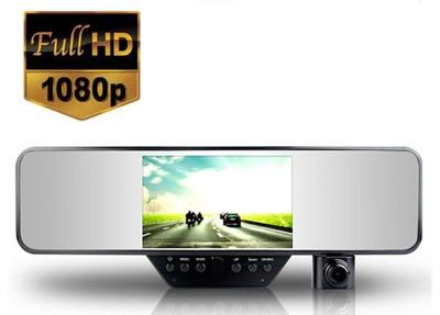 超薄後視鏡行車記錄器 1080p Full HD錄影 4.3螢幕 防炫光 (3.3折)