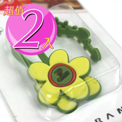 【inBOUND】花朵捲線器/集線器(三色任選) (3.1折)