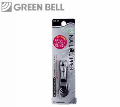 【永昌文具】日本綠鐘NC不銹鋼安全指甲剪(曲線刃.BS.NC-137) (5折)