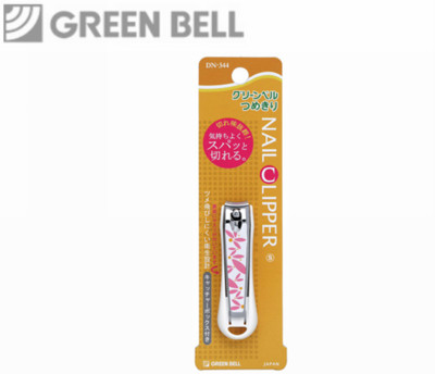 【永昌文具】日本綠鐘NC不銹鋼安全指甲剪(曲線刃.S.DN-344) (5折)