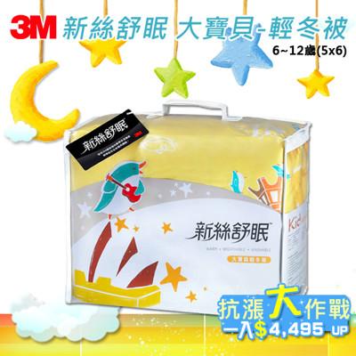 【3M】 新絲舒眠 Z370 大寶貝-輕冬被 6-12歲(5x6) (3.2折)