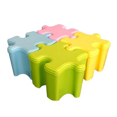馬卡龍彩色拼圖收納箱 (1.6折)