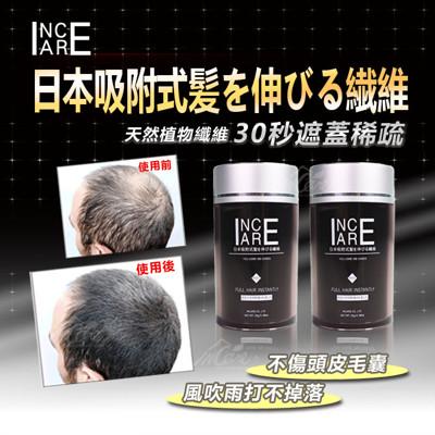 【Incare】2017新款吸附式植物增髮纖維(歐美熱銷NO.1) (0.5折)