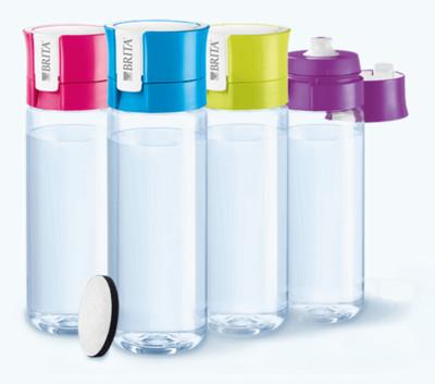 新款二代 BRITA Fill&Go 0.6L 隨身濾水瓶 濾水壺 內贈專用提帶 (9折)