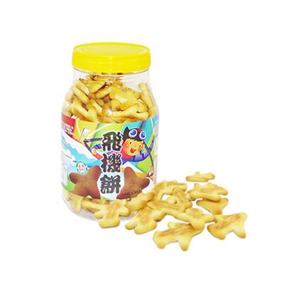 【鎰利】輕巧零食 飛機餅(150g/罐) (8折)
