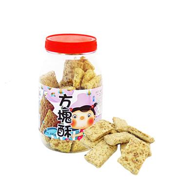 【鎰利】輕巧零食 方塊酥(150g/罐) (8折)