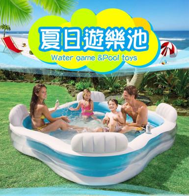 INTEX-229公分坐墊充氣泳池 (8.2折)