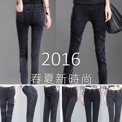 春夏歐洲牛仔百搭直筒褲-7款 (3.8折)