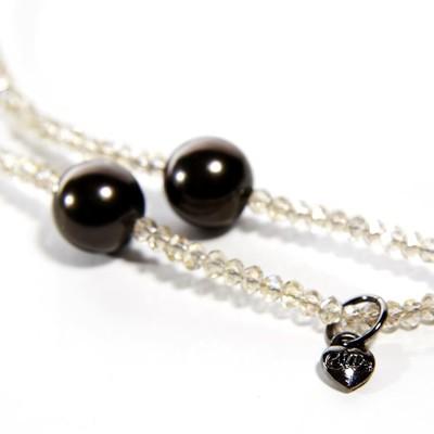 【CLUE】 黑珍珠項鍊 (7.2折)