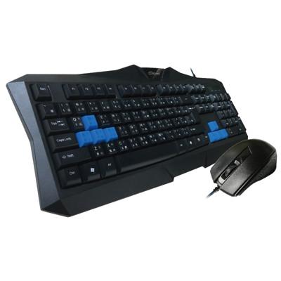 超耐壓防震低噪USB電競鍵盤滑鼠組 (5.5折)
