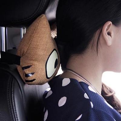 大眼貓車用頸枕,超萌,超療癒 (3.1折)