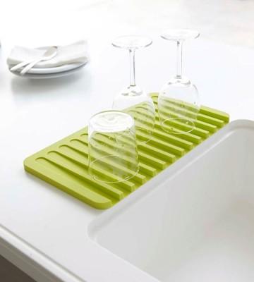 創意可瀝水 矽膠肥皂盒 香皂架 矽膠可以瀝水凹槽肥皂盒 (4.1折)