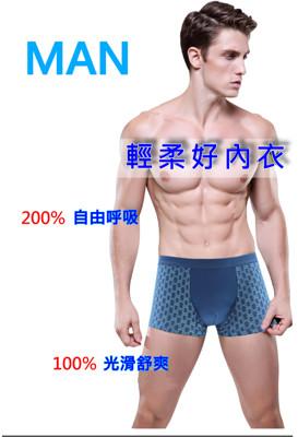 莫代爾竹纖維純棉男內褲 (1折)