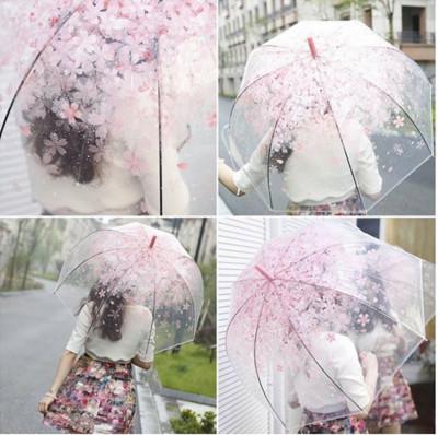 櫻花蘑菇造型請雨傘 (3.4折)