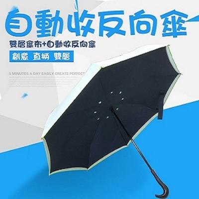 鷹頭把自動收反向傘 (1.7折)