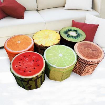 水果創意收納凳-多款任選 (4.9折)