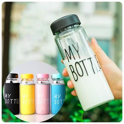 MY BOTTLE玻璃杯 日韓Todays special水瓶 (送杯套) (3.4折)
