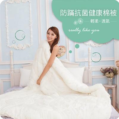 雙人棉被-防螨抗菌健康被.台灣製造【禾馨寢飾】 (3.5折)