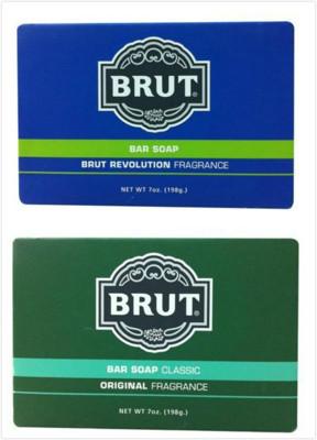 Brut男士古龍水香皂傳統/格新古龍水香味)(7oz./198g) (6.9折)