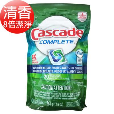 【美國 Cascade】洗碗機專用洗碗錠(清香/檸檬)2款可選(360g/20顆) (7.5折)