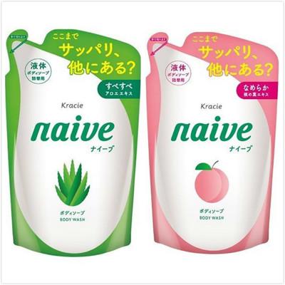 【日本 kracie 葵緹亞】Naive 娜艾菩植物沐浴乳(380ml) (7.3折)