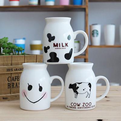 Zakka 創意早餐杯 牛奶杯 陶瓷杯 (6折)