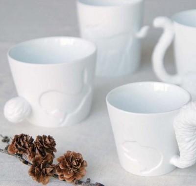 森林系列陶瓷杯 蠟燭燭台 多肉花盆 (6折)