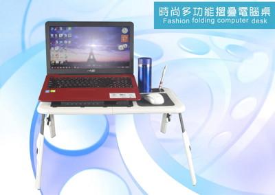 [龍芝族] KT0012 可摺疊床上筆記本電腦桌、便捷學生桌 (4折)