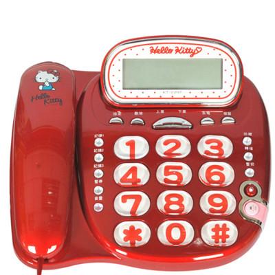 HELLO KITTY 有線電話機 KT-229T (6.1折)