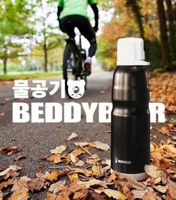 韓國BEDDYBEAR 杯具熊 2016新款 恆溫運動水杯 304不鏽鋼保溫杯 保溫瓶 悶燒杯 (8.1折)