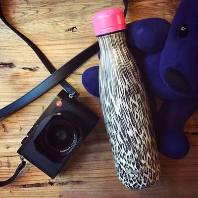 韓國BEDDYBEAR 杯具熊 2016新款 藝術曲線保溫瓶 304不鏽鋼保溫杯 (8.2折)