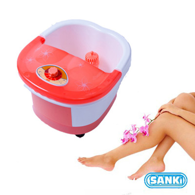 日本Sanki 時尚馬卡龍款中桶加熱足浴機-4色 可選 (4.3折)