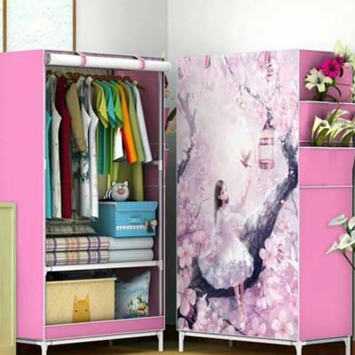 DIY捲簾式組合衣櫃 (7.1折)