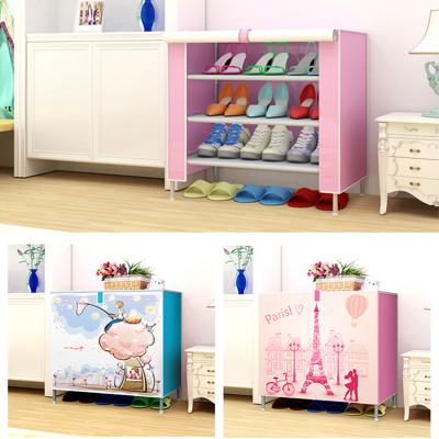 DIY捲簾式組合鞋櫃收納櫃置物架 (3.6折)