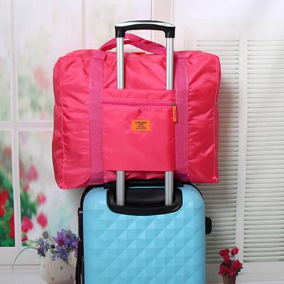 插桿式兩用摺疊旅行手提袋 (1.7折)