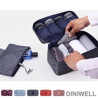 【韓版】DINIWELL印花系列防水旅遊貼身衣物收納包 (4折)