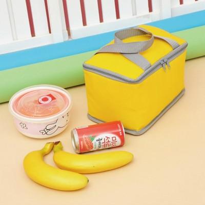 糖果色方形牛津布保溫保冰袋 (2.3折)