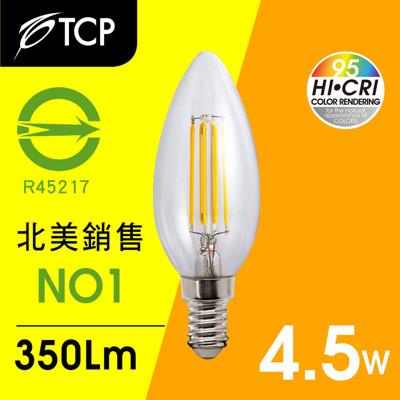 TCP Ra95 仿鎢絲型 E14 LED蠟燭燈 (8折)