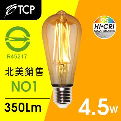 TCP RA95仿鎢絲型ST58 LED燈泡 (7.6折)