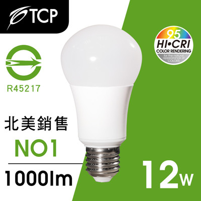 TCP RA95 LED燈泡12W白光 (7.7折)